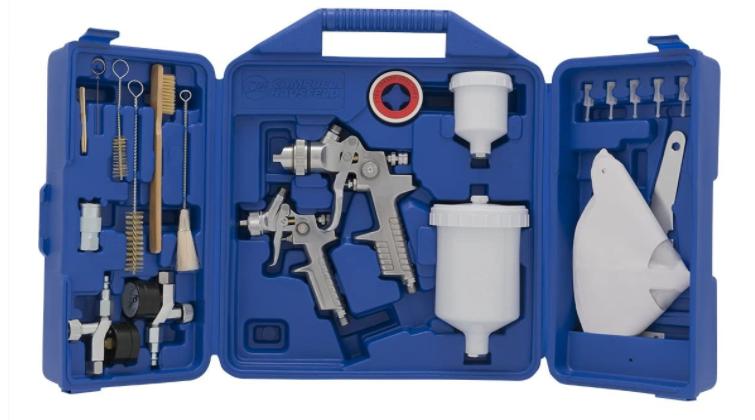 Cambell Hausfeld Gravity feeds Spray Gun Kit